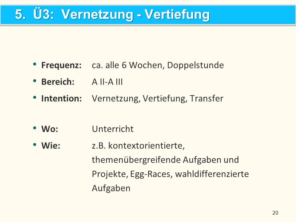 5. Ü3: Vernetzung - Vertiefung
