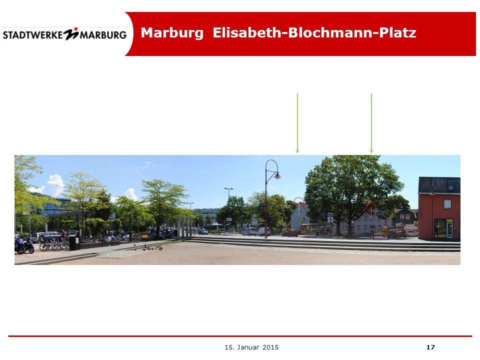 Marburg Elisabeth-Blochmann-Platz