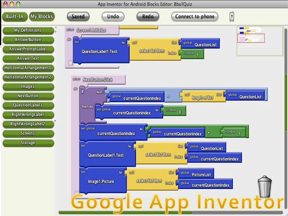 Google App Inventor Google App Inventor