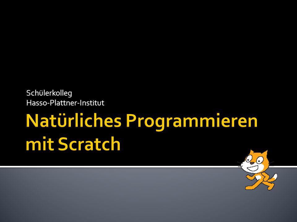Natürliches Programmieren mit Scratch