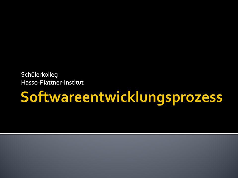 Softwareentwicklungsprozess