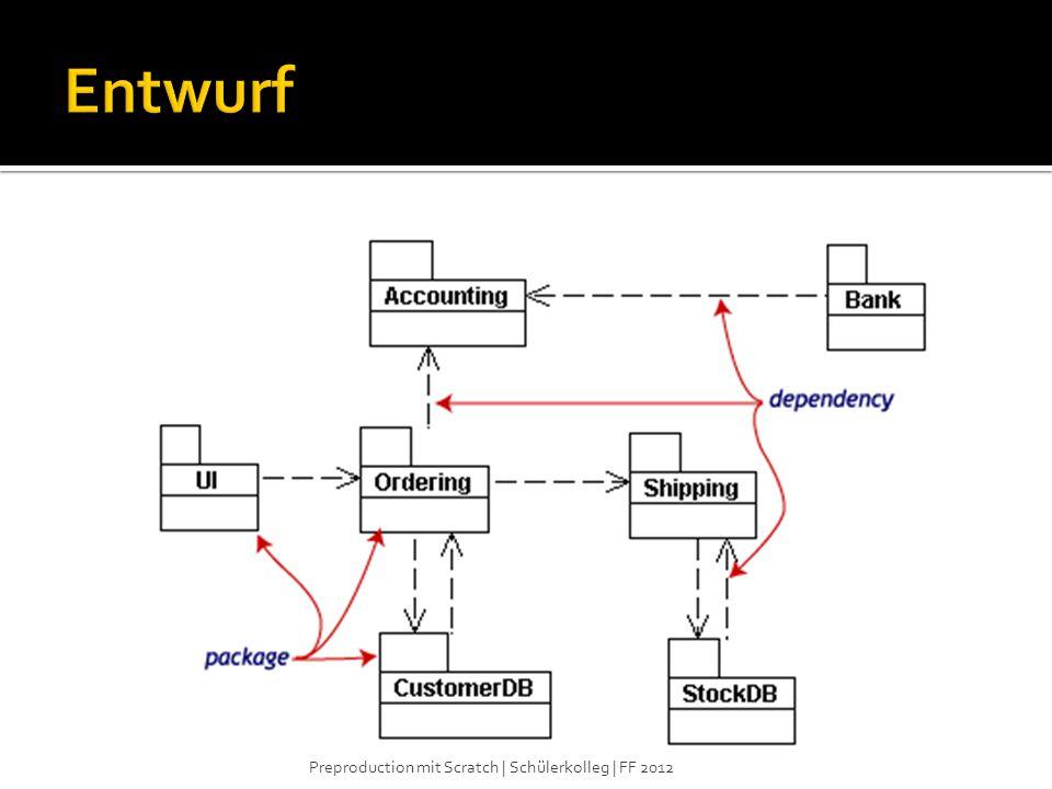 Entwurf Preproduction mit Scratch | Schülerkolleg | FF 2012