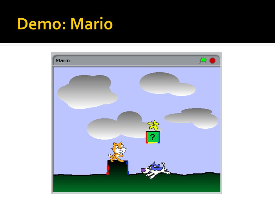 Demo: Mario