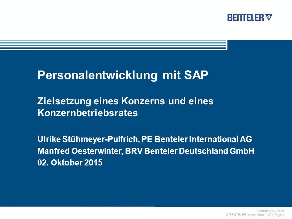 Personalentwicklung mit SAP