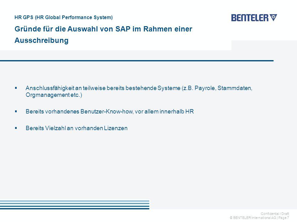 Gründe für die Auswahl von SAP im Rahmen einer Ausschreibung