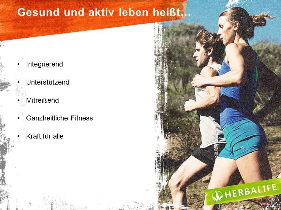 Gesund und aktiv leben heißt…