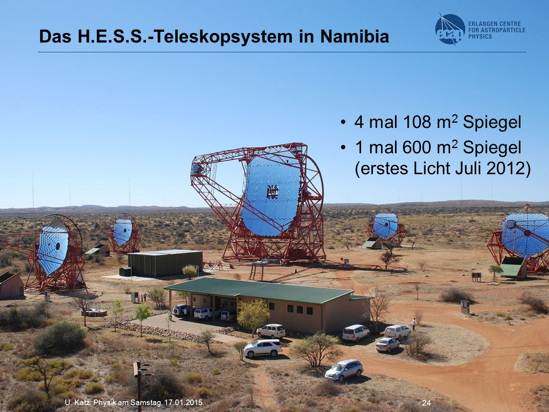 Das H.E.S.S.-Teleskopsystem in Namibia