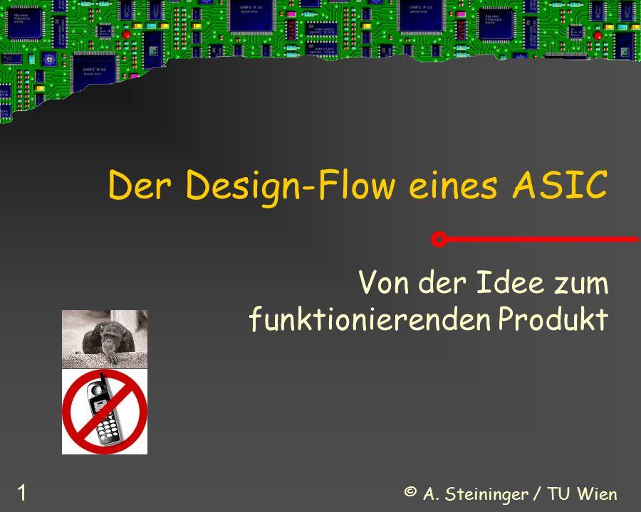Der Design-Flow eines ASIC