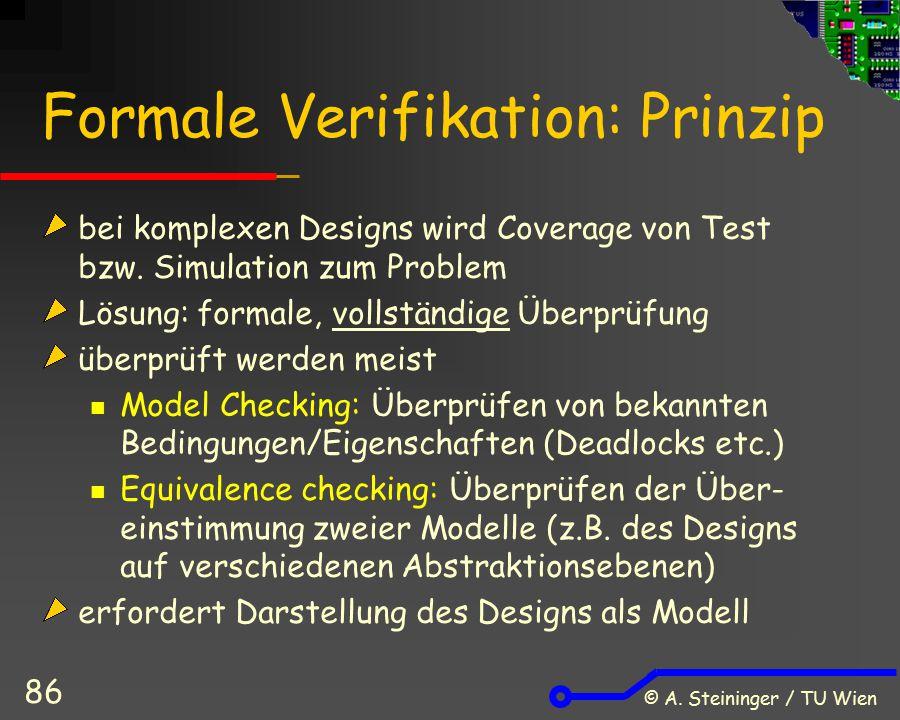 Formale Verifikation: Prinzip