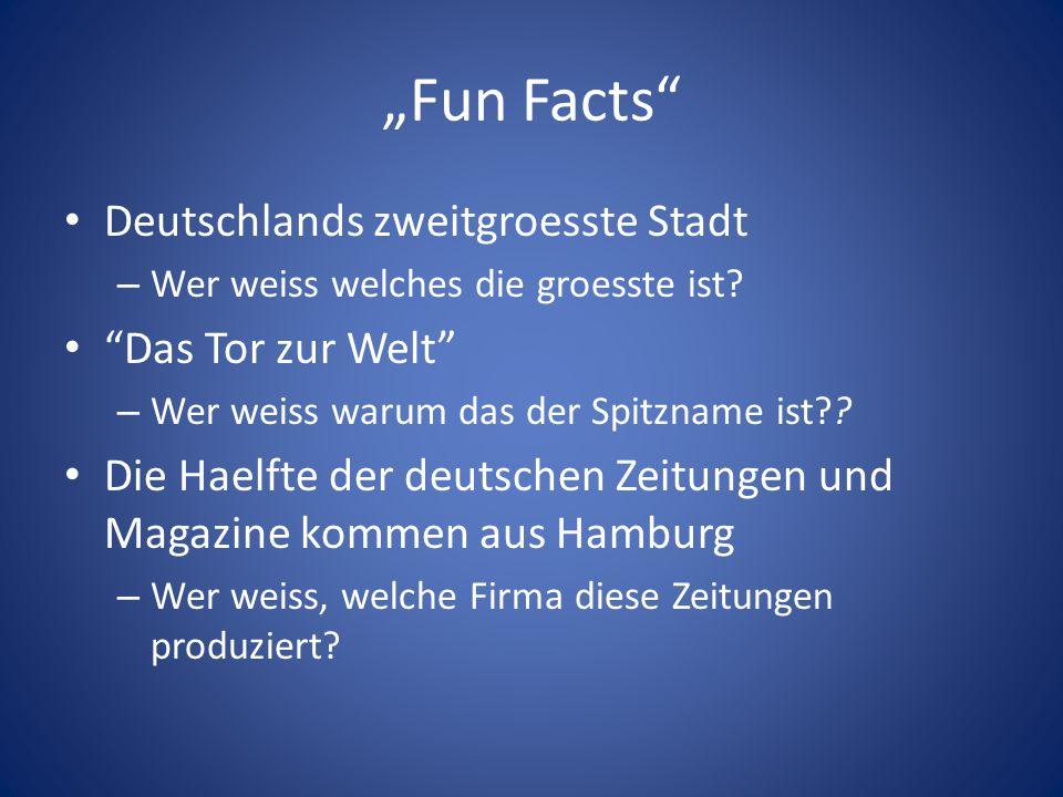 """""""Fun Facts Deutschlands zweitgroesste Stadt Das Tor zur Welt"""