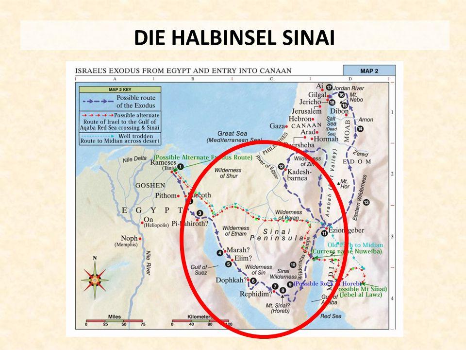 DIE HALBINSEL SINAI