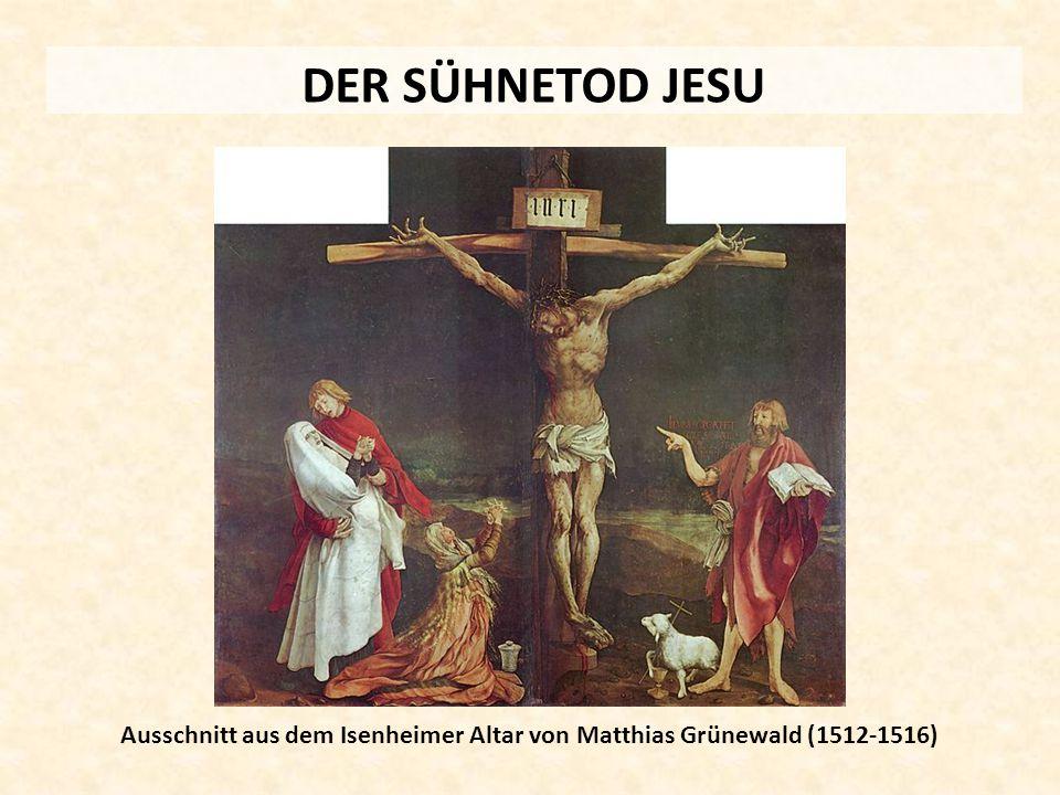 Ausschnitt aus dem Isenheimer Altar von Matthias Grünewald (1512-1516)