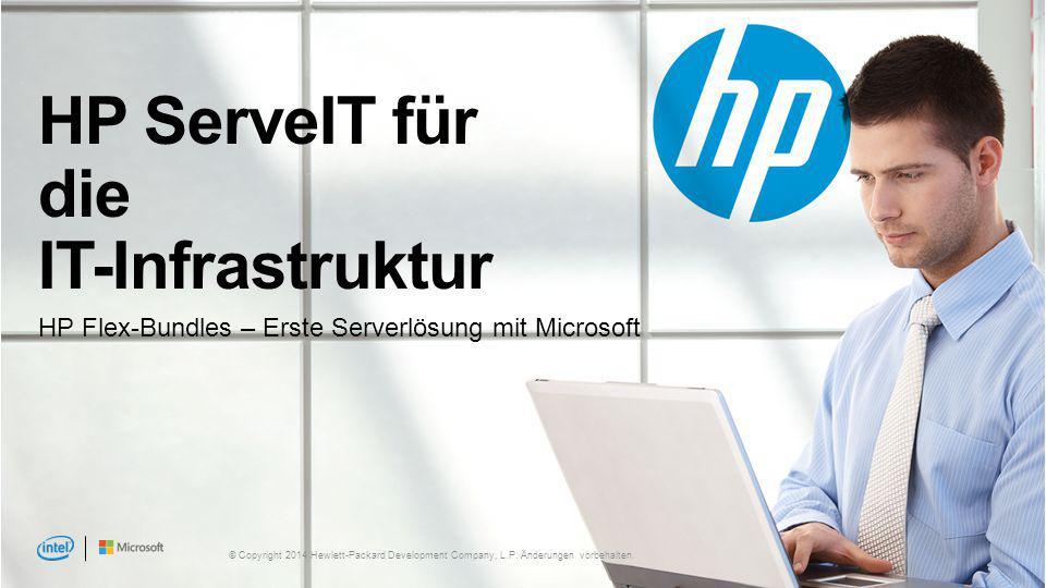 HP ServeIT für die IT-Infrastruktur