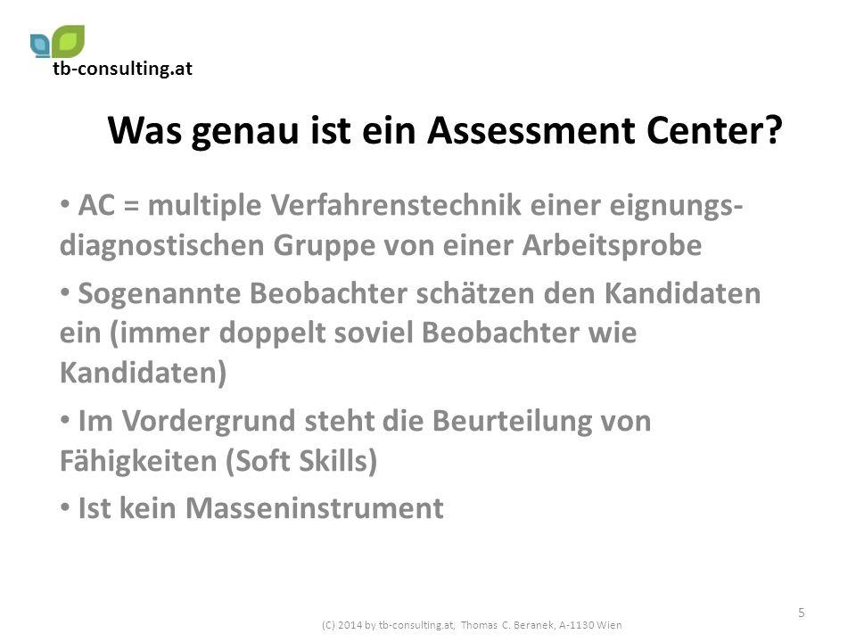 Was genau ist ein Assessment Center
