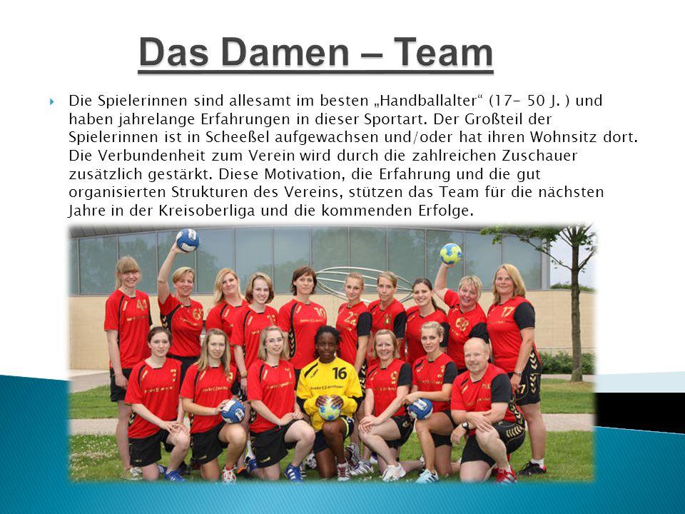 Das Damen – Team