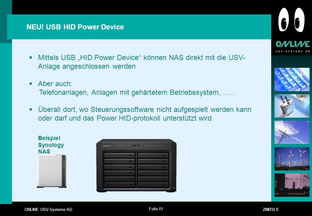 NEU! USB HID Power Device