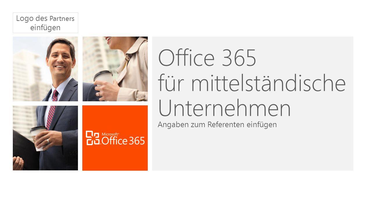Office 365 für mittelständische Unternehmen