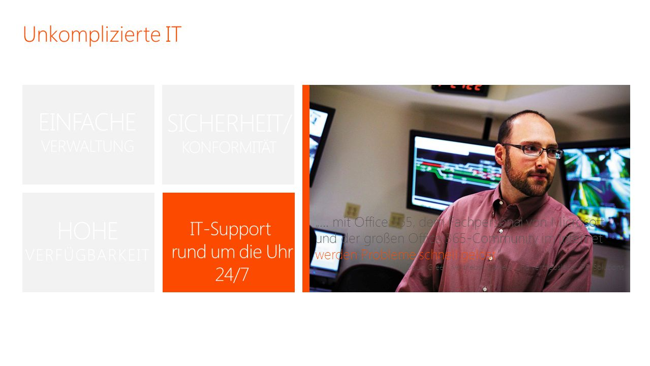 IT-Support rund um die Uhr 24/7