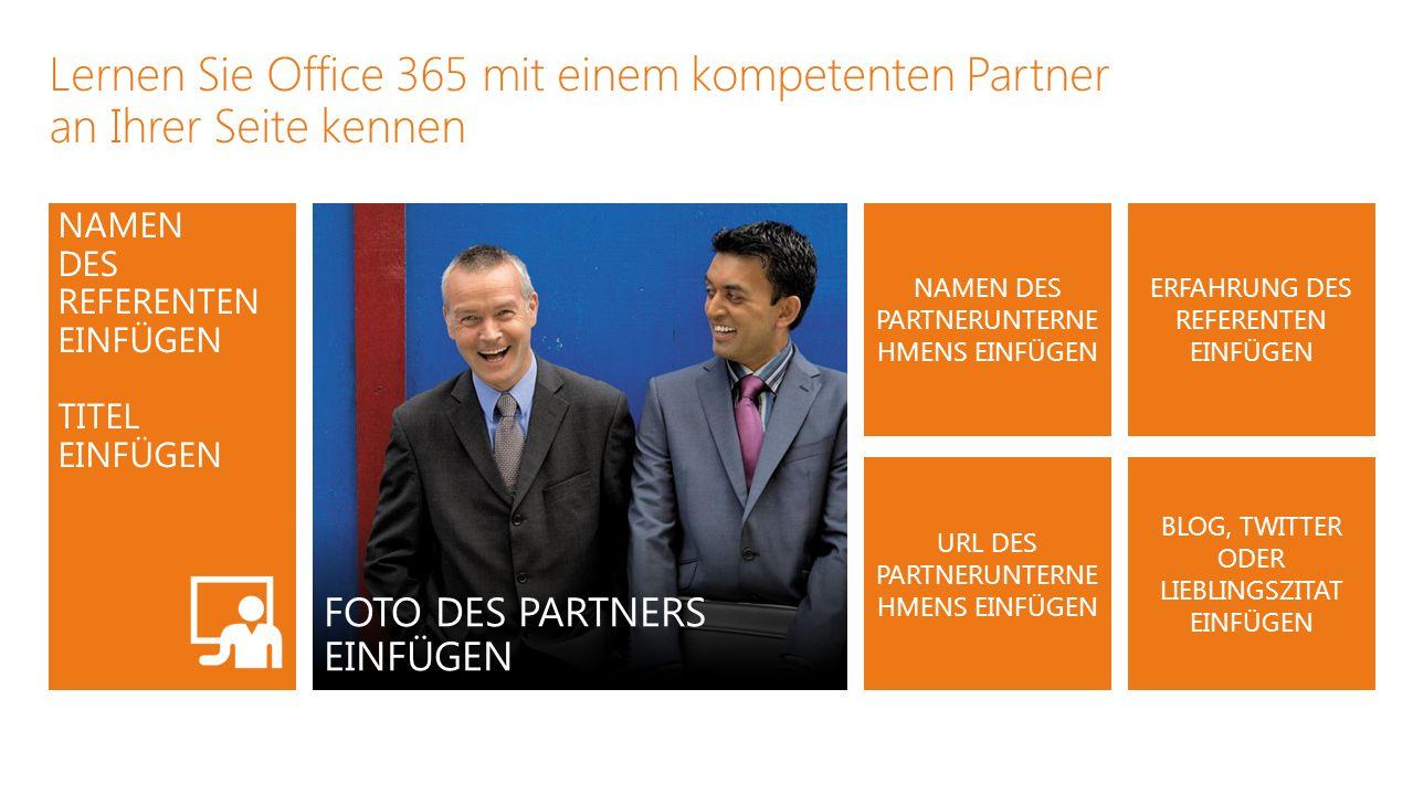Lernen Sie Office 365 mit einem kompetenten Partner an Ihrer Seite kennen