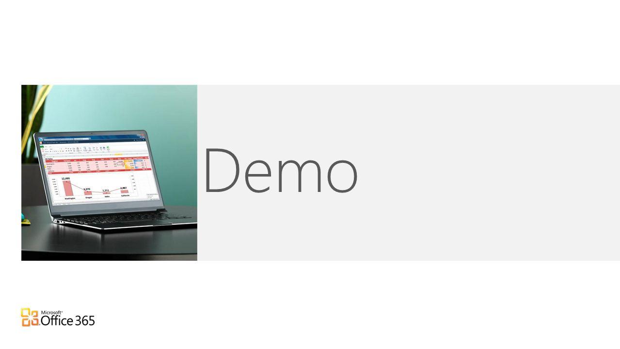 Demo Anleitung für den Referenten: Nutzen Sie die Zeit, um dem Publikum Office 365 anhand einer Demo vorzustellen.