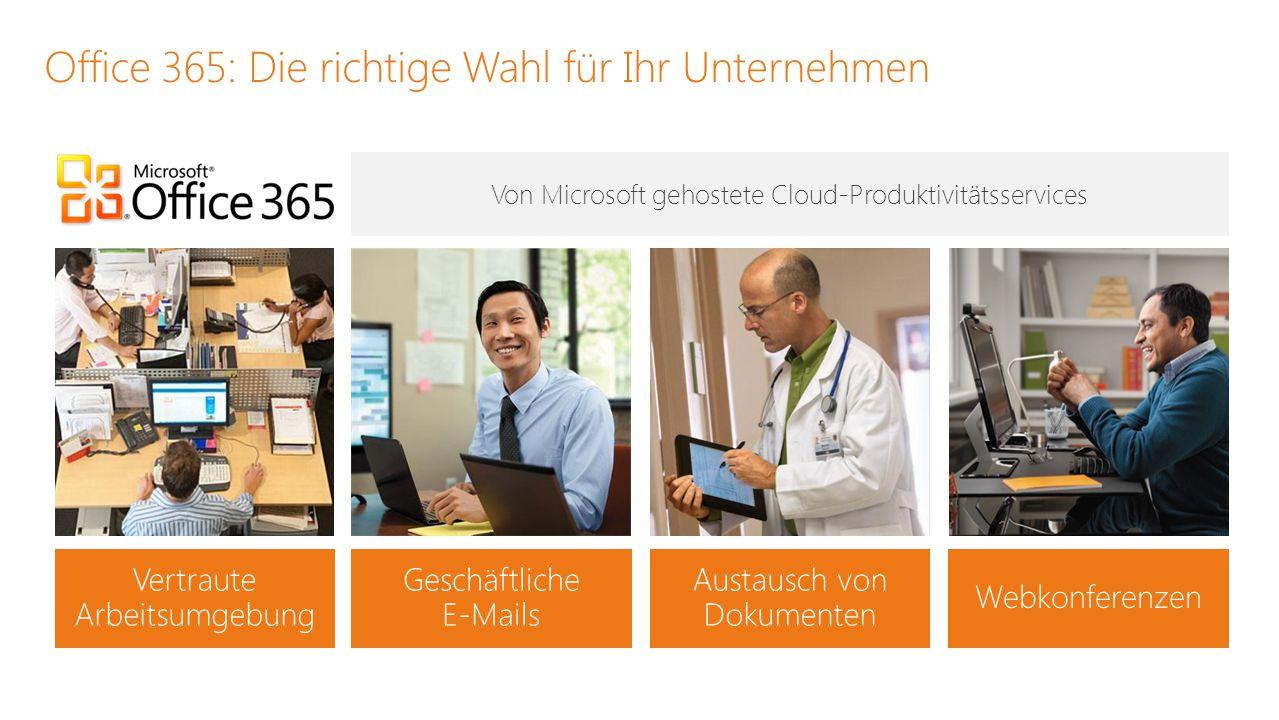 Office 365: Die richtige Wahl für Ihr Unternehmen