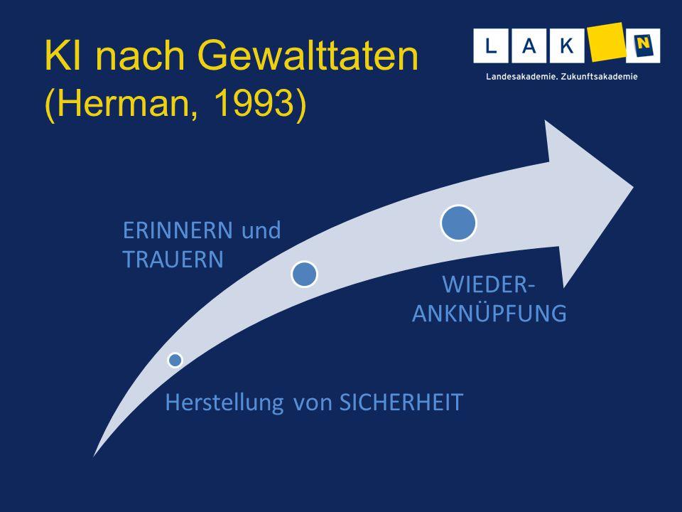 KI nach Gewalttaten (Herman, 1993)