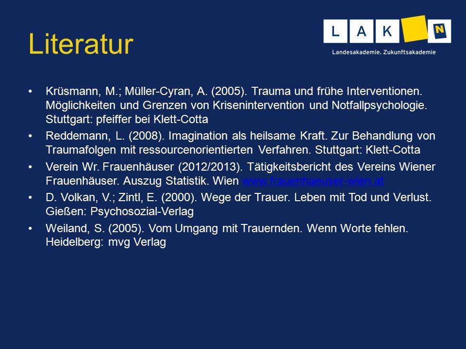NÖ Landesakademie Literatur.