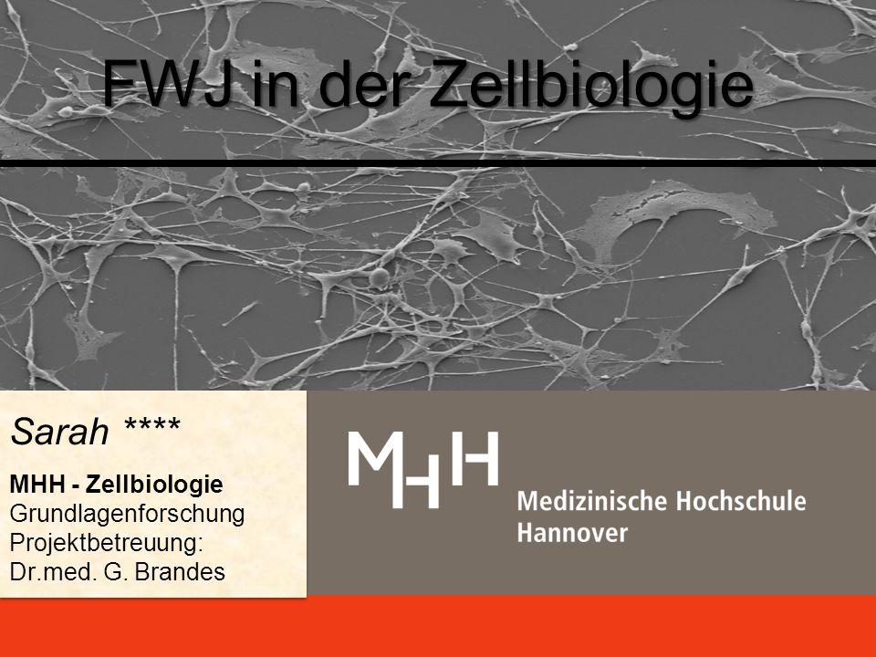 FWJ in der Zellbiologie