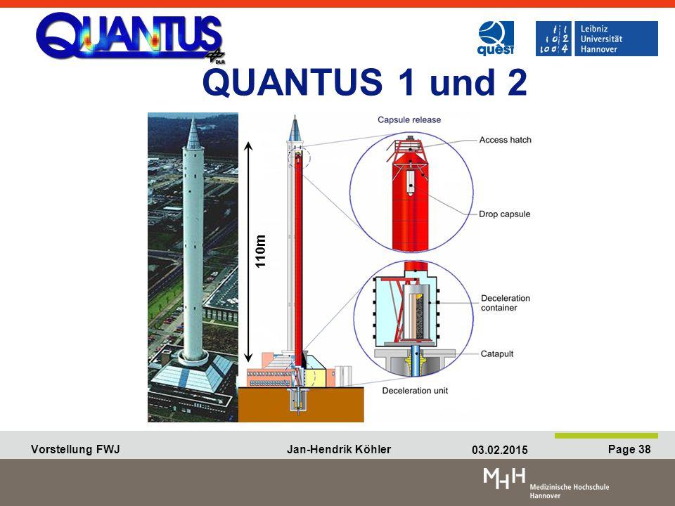 QUANTUS 1 und 2 110m