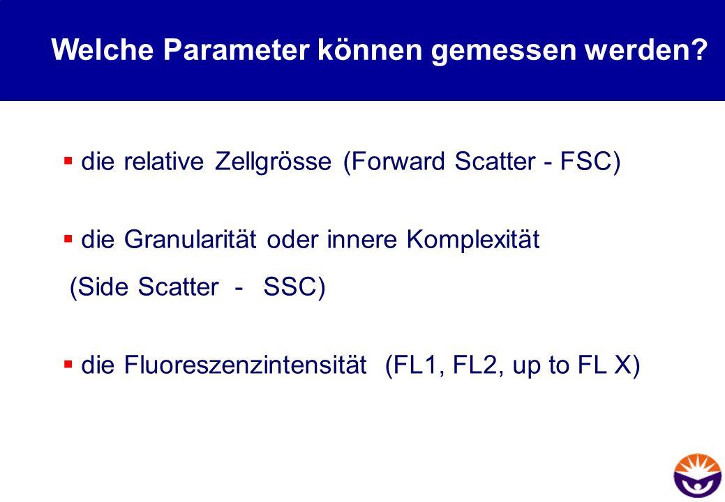 Welche Parameter können gemessen werden