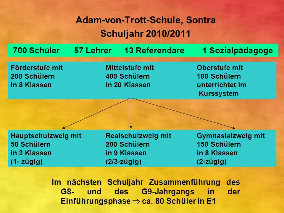 Adam-von-Trott-Schule, Sontra