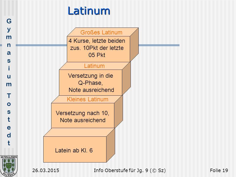 Latinum Großes Latinum