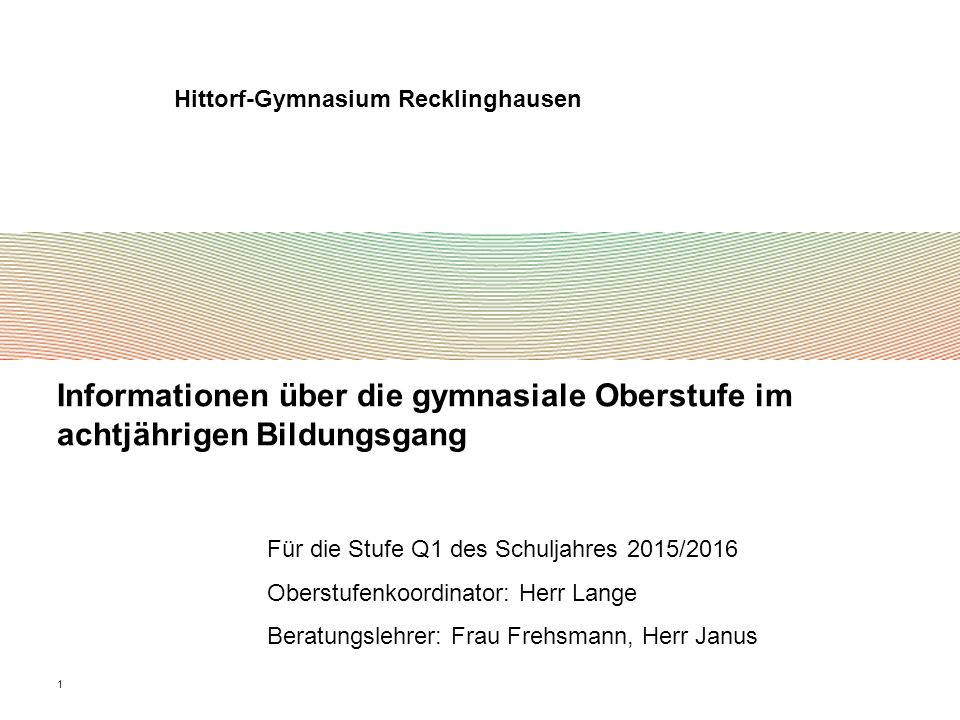Hittorf-Gymnasium Recklinghausen