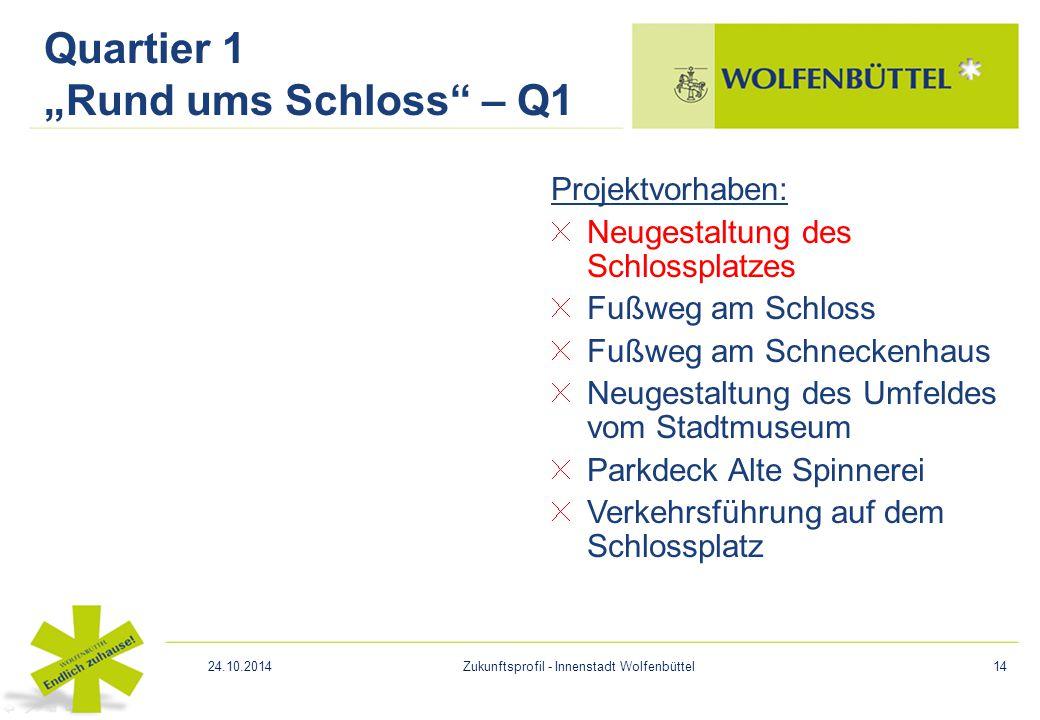 "Quartier 1 ""Rund ums Schloss – Q1"