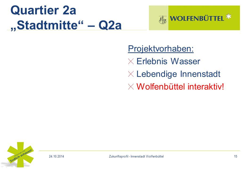"Quartier 2a ""Stadtmitte – Q2a"