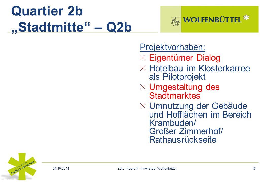 """Quartier 2b """"Stadtmitte – Q2b"""