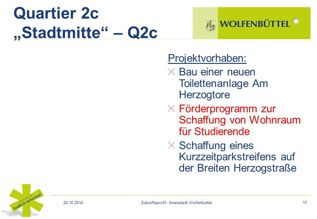 """Quartier 2c """"Stadtmitte – Q2c"""