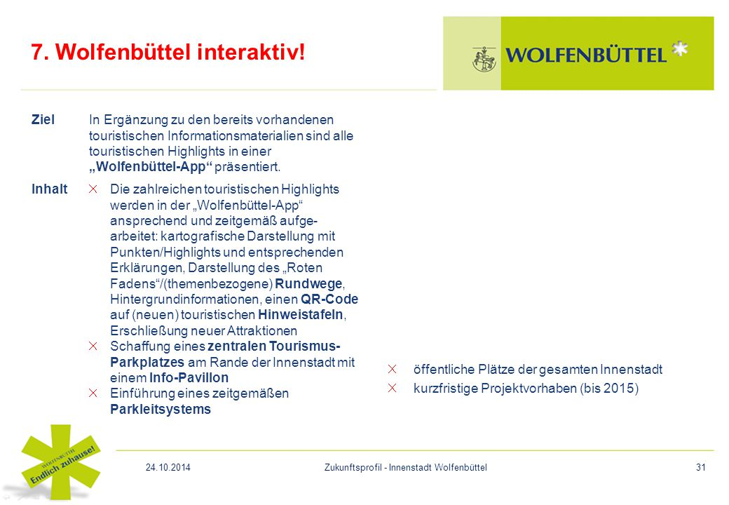 7. Wolfenbüttel interaktiv!