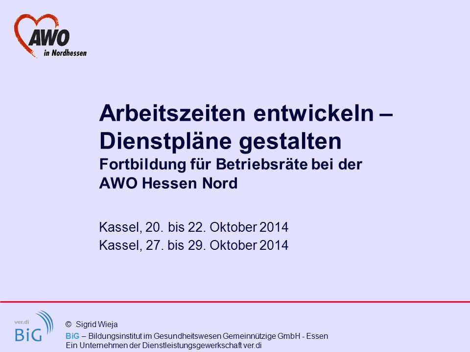 Kassel, 20. bis 22. Oktober 2014 Kassel, 27. bis 29. Oktober 2014