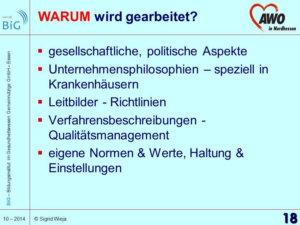 WARUM wird gearbeitet 18 gesellschaftliche, politische Aspekte