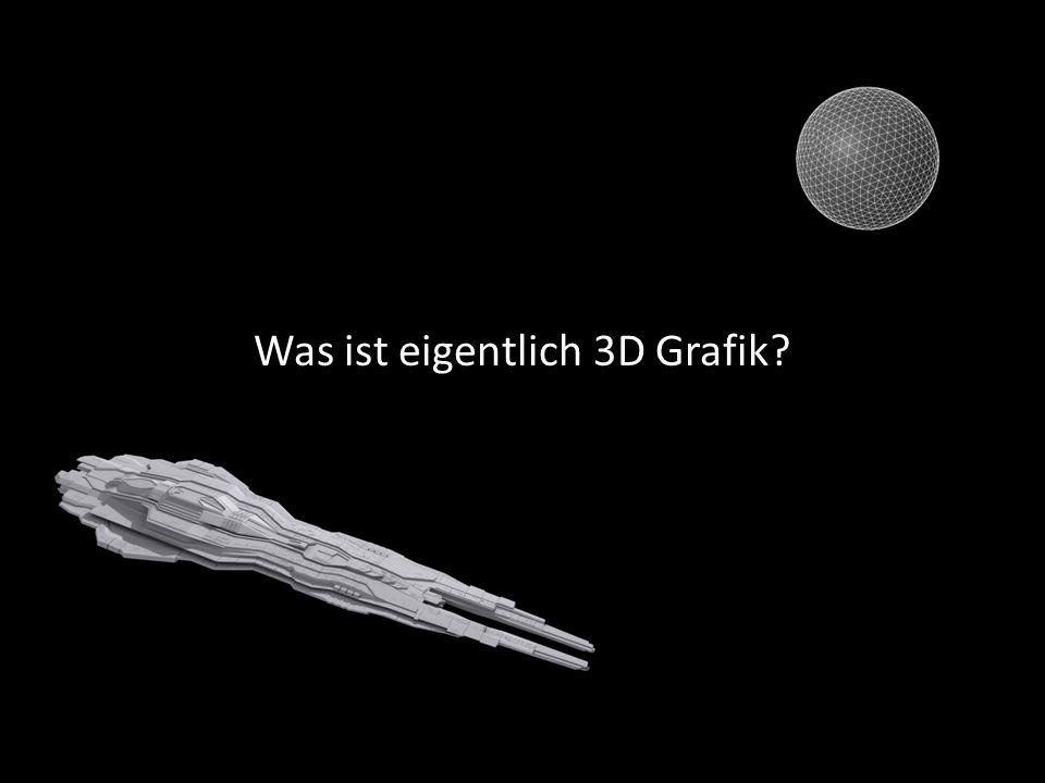 Was ist eigentlich 3D Grafik