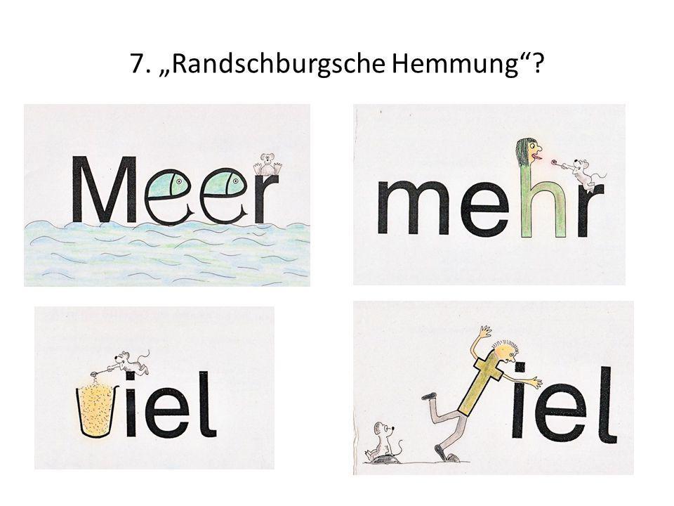 """7. """"Randschburgsche Hemmung"""