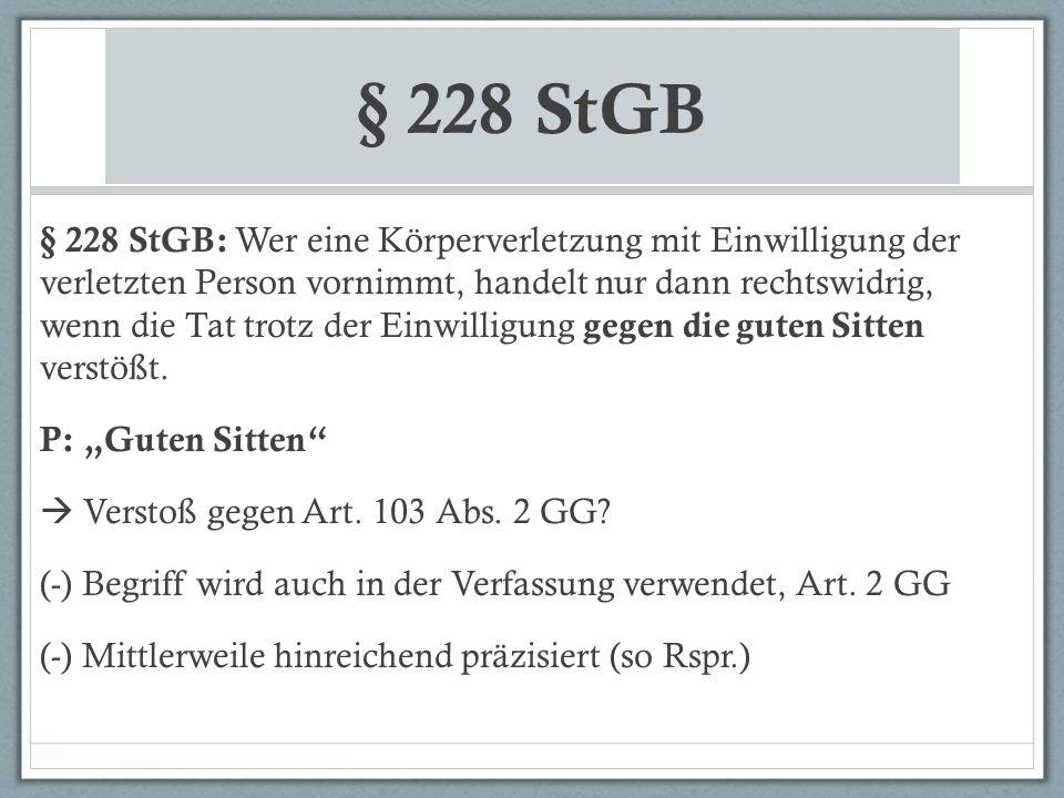 § 228 StGB