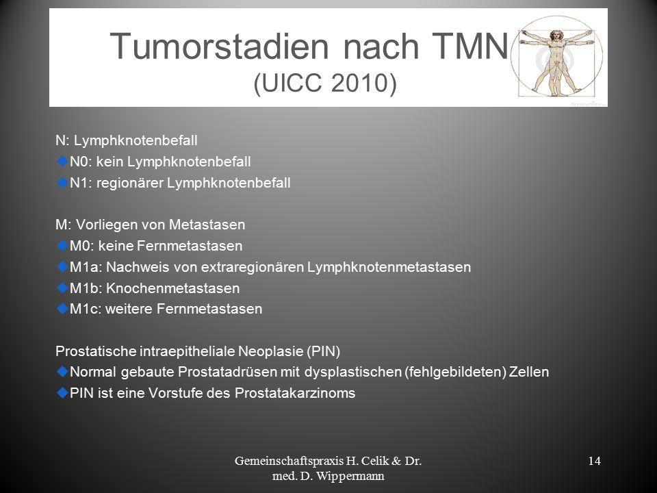 Tumorstadien nach TMN (UICC 2010)