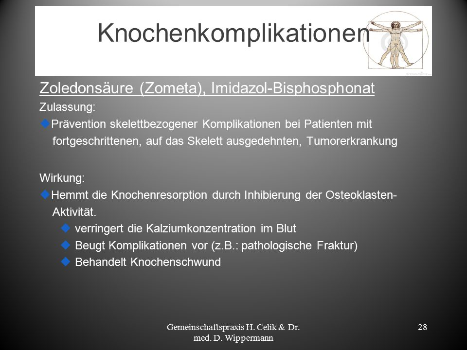 Knochenkomplikationen