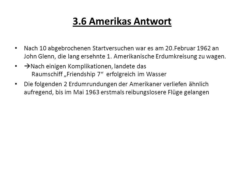 3.6 Amerikas Antwort