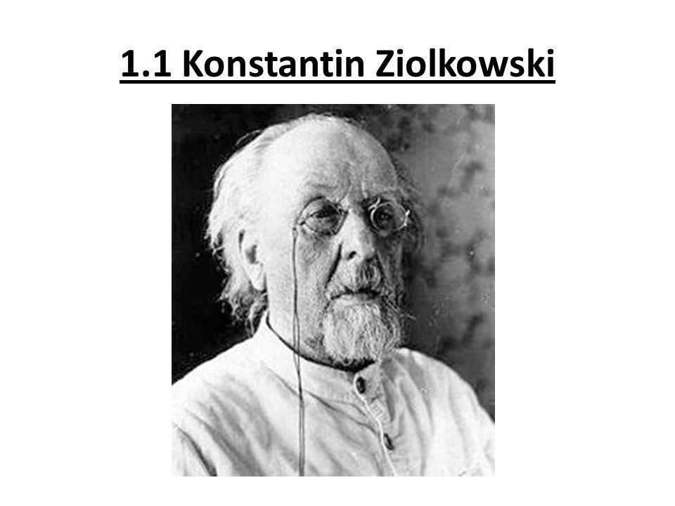 1.1 Konstantin Ziolkowski