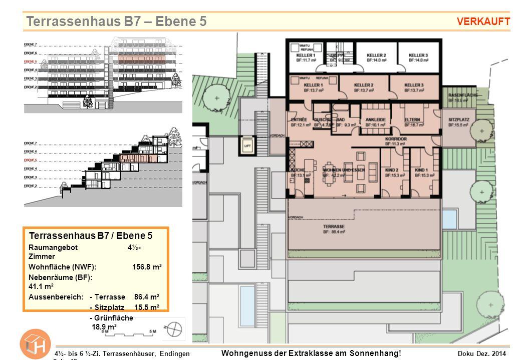 Terrassenhaus B7 – Ebene 5