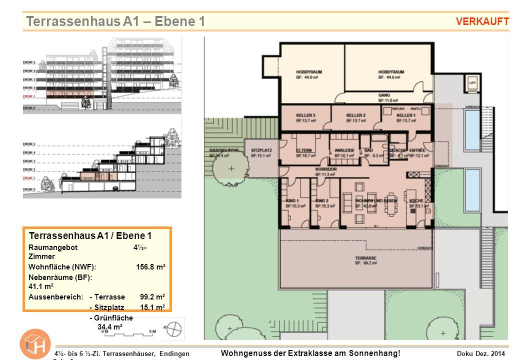 Terrassenhaus A1 – Ebene 1