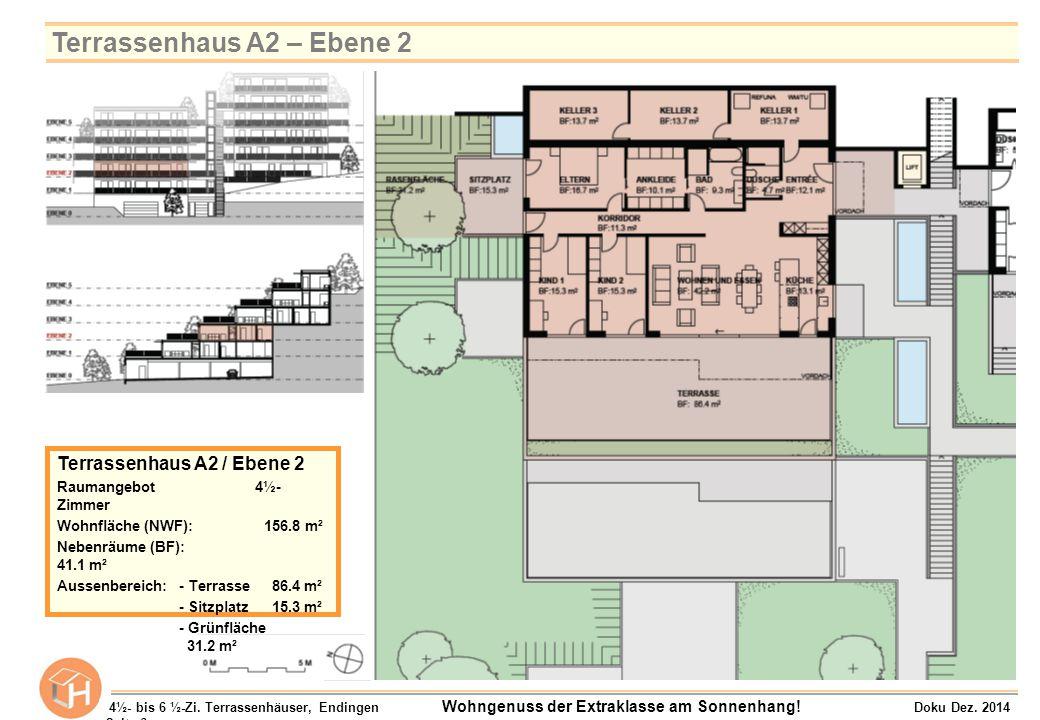 Terrassenhaus A2 – Ebene 2